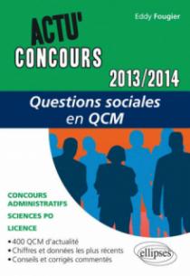 Questions sociales en QCM - 2013-2014