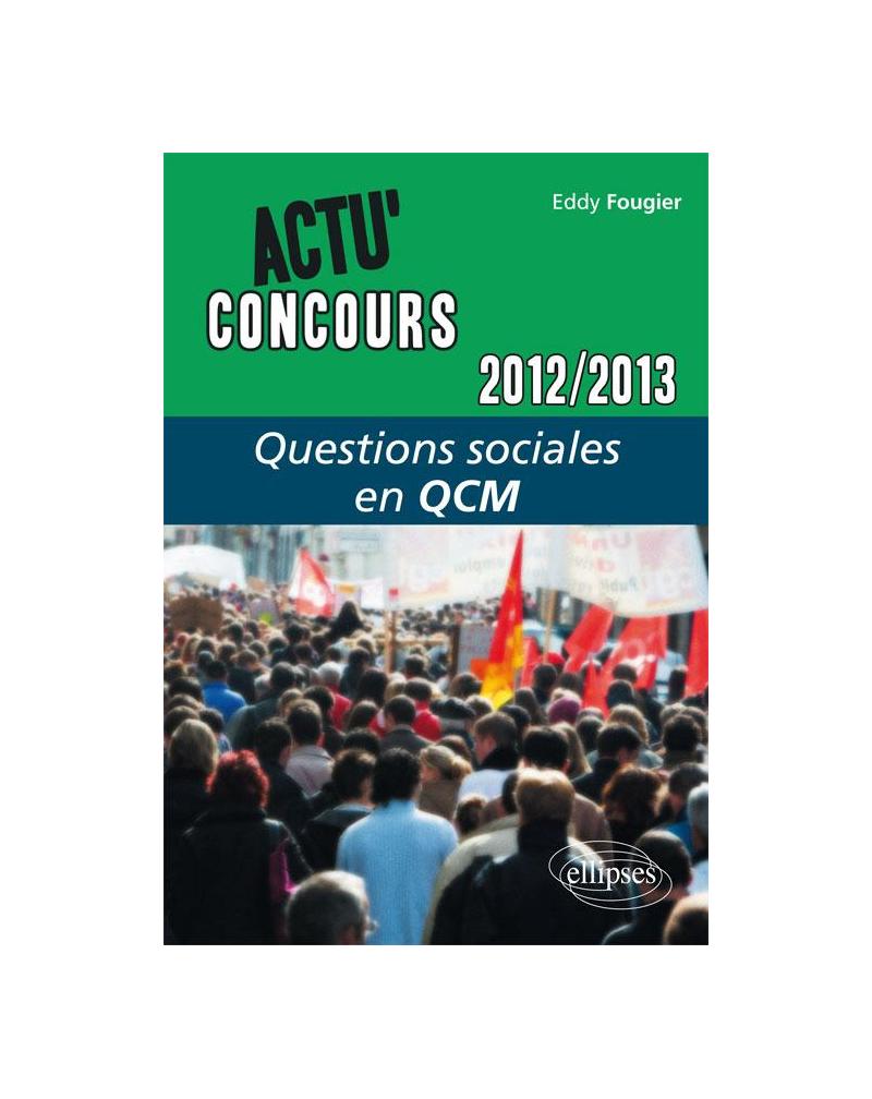 Questions sociales - 2012-2013 - en QCM