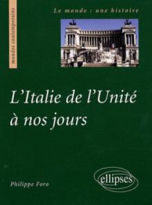 L'Italie de l'Unité à nos jours