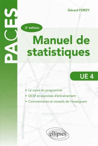 UE4 - Manuel de statistique - 3e éd.