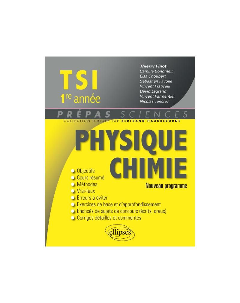 Physique-chimie TSI1 - 2e édition