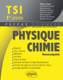 Physique-chimie TSI1 - 2e édition