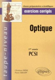 Optique PCSI - Exercices corrigés