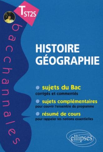 Histoire-Géographie. Terminale ST2S - nouveau programme