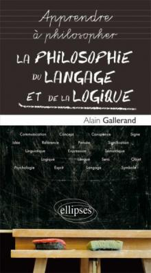 La philosophie du langage et de la logique