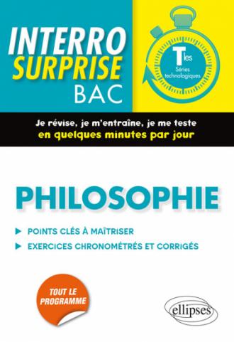 Philosophie. Tle Séries technologiques