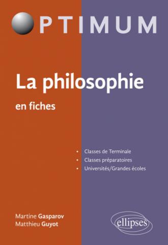 La philosophie en fiches