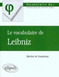 vocabulaire de Leibniz (Le)