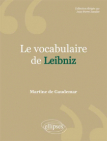 Le vocabulaire de Leibniz