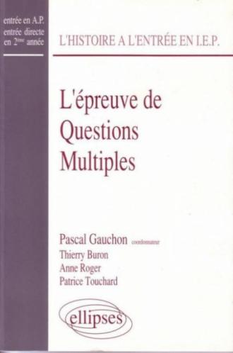 épreuve de questions multiples (L')