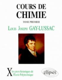 Cours de chimie, volume 1
