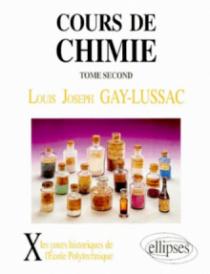 Cours de chimie, volume 2