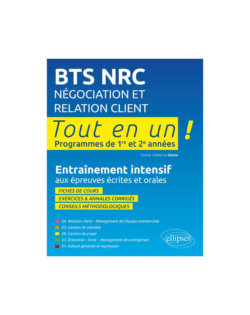 BTS NRC Négociation et Relation Client