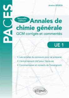 UE1 - Annales de chimie générale
