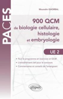 UE2 - 900 QCM de Biologie cellulaire, histologie et embryologie