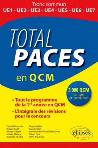 Total PACES (en 3000 QCM)