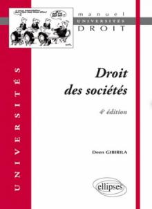 Droit des sociétés. 4e édition