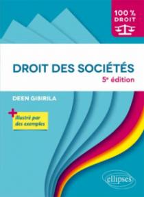 Droit des sociétés - 5e édition