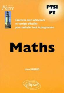 Mathématiques PTSI-PT - Exercices corrigés