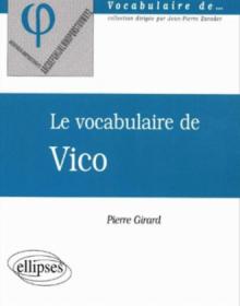 vocabulaire de Vico (Le)