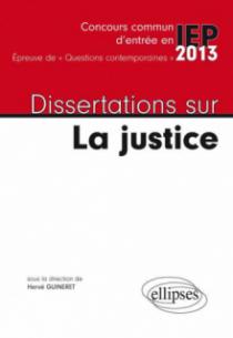 Dissertations sur la justice