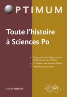 Toute l'histoire à Sciences Po. Programme officiel du concours d'entrée Sciences Po Paris