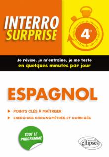 Espagnol interro surprise 4e