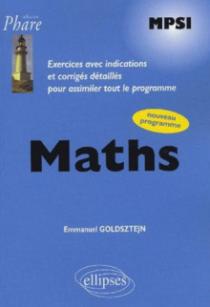 Mathématiques MPSI - Exercices corrigés