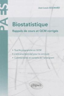 Biostatistique - rappels de cours et QCM corrigés