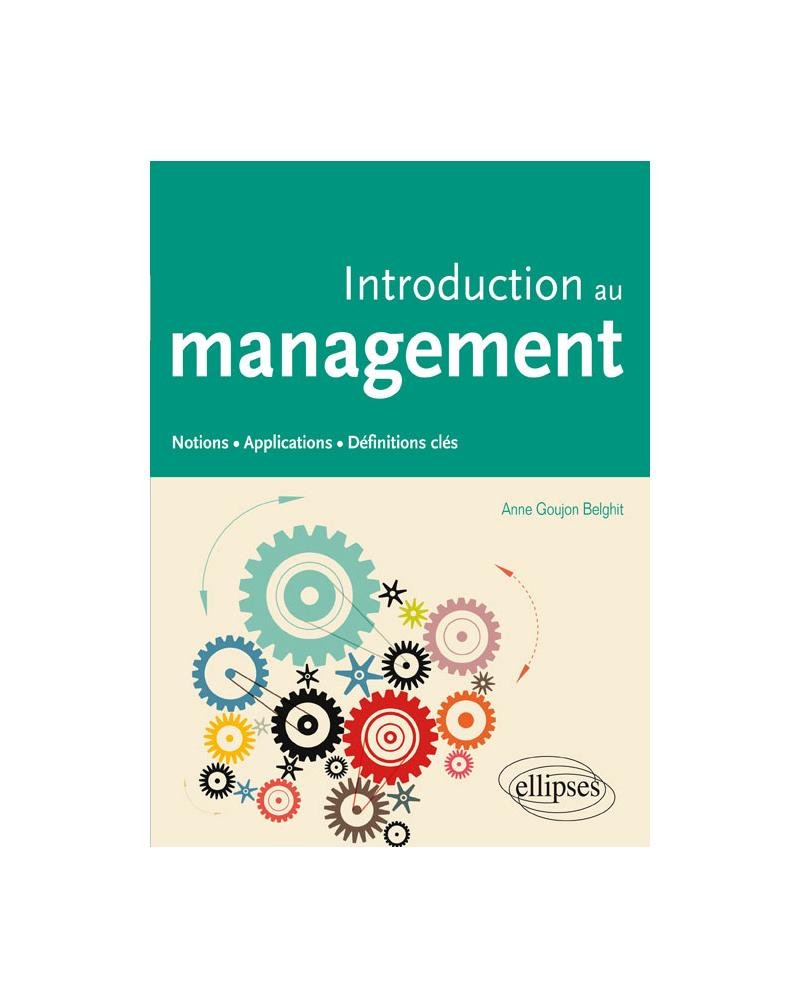 Introduction au management