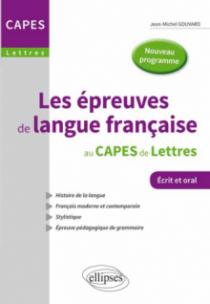 Les épreuves de langue française au Capes de lettres - Nouvelle épreuve