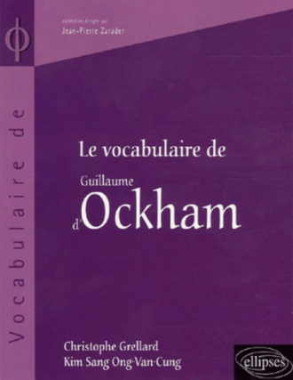 Le vocabulaire d'Ockham