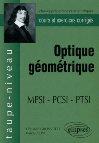 Optique géométrique - MPSI - PCSI - PTSI