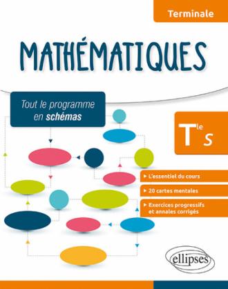Mathématiques - Terminale S - L'essentiel du cours, cartes mentales et exercices avec annales corrigés