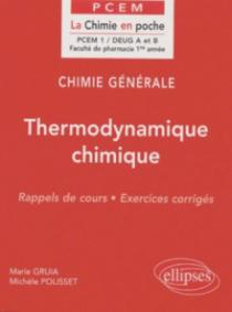 Chimie générale - 2 - Thermodynamique chimique