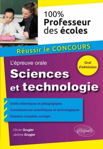 L'épreuve de sciences et technologie au concours de professeur des écoles