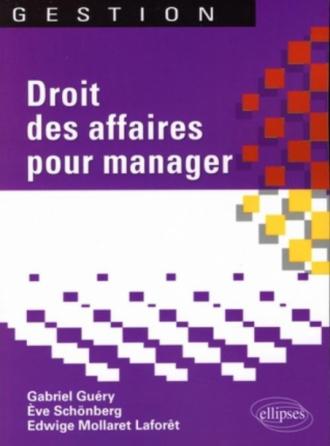 Droit des affaires pour manager