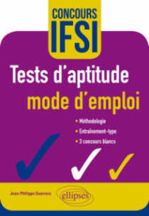 Tests d'aptitude – mode d'emploi – Concours IFSI