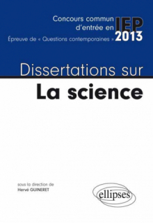 Dissertation preuve scientifique