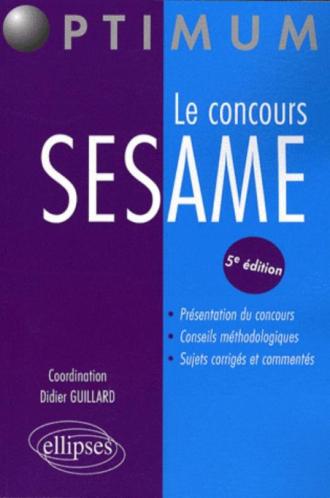 concours SESAME (Le). 5e édition