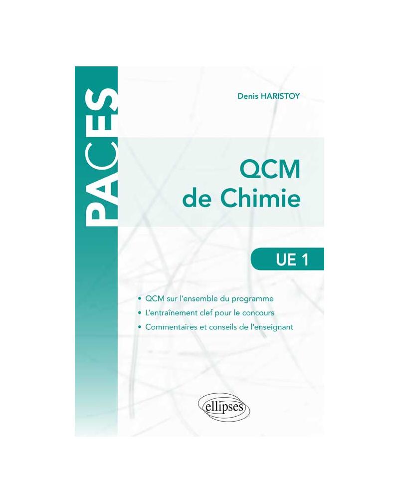 UE1 - QCM de chimie