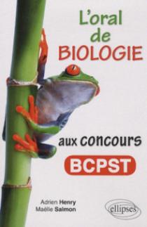 L'oral de Biologie aux concours BCPST