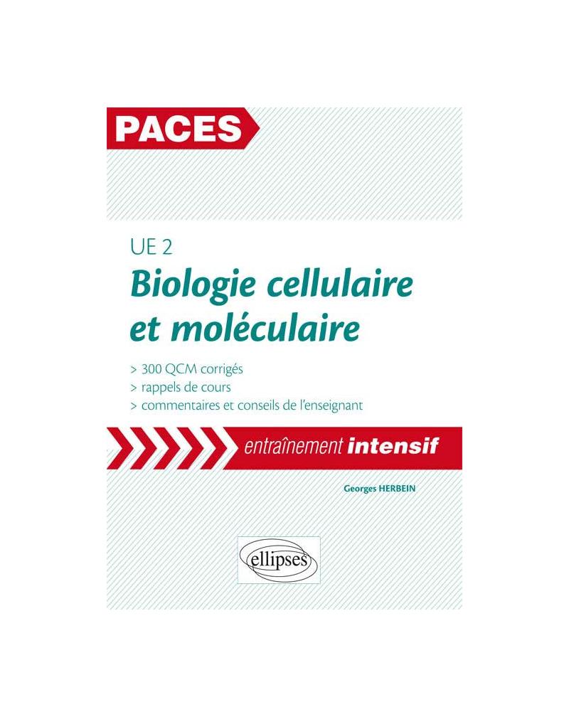 UE2 - Biologie cellulaire et moléculaire