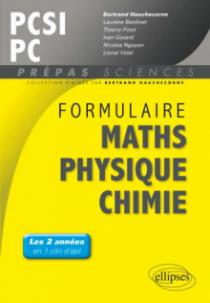 Formulaire : Mathématiques - Physique-Chimie -SII - PCSI/PC