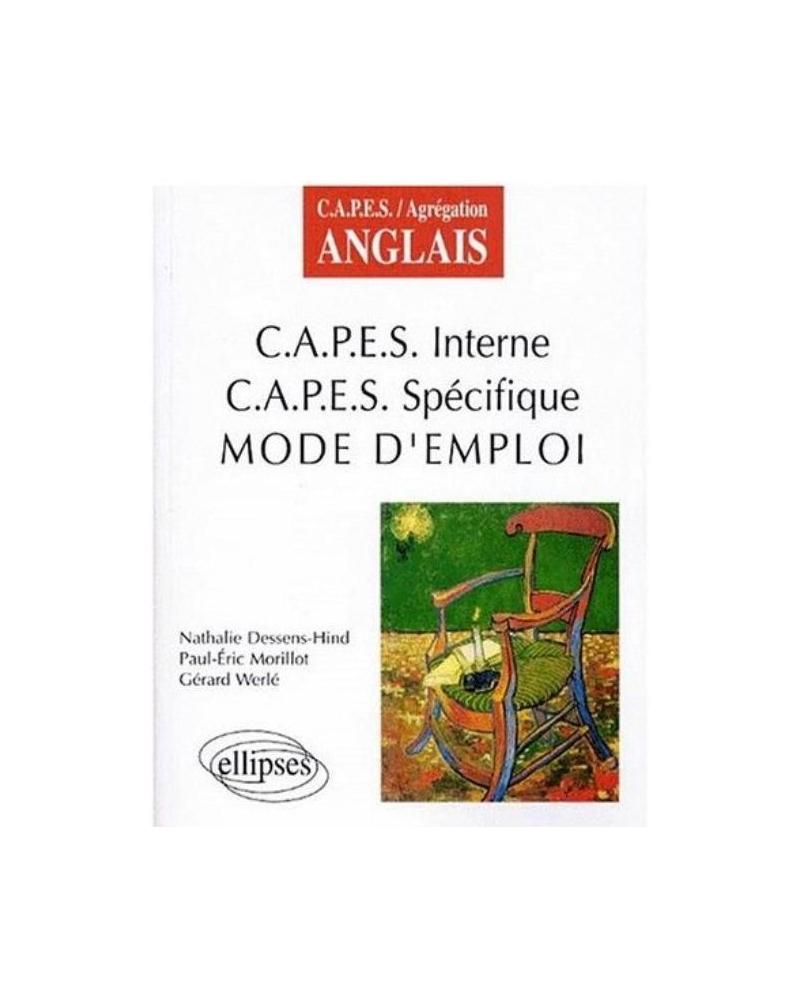 CAPES interne - CAPES spécifique - Mode d'emploi