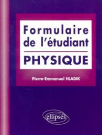 Formulaire de l'étudiant (Physique)