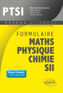 Formulaire : Mathématiques - Physique-Chimie -SII - PTSI