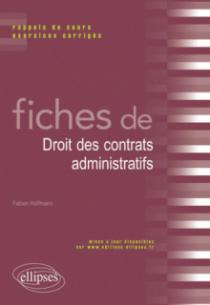 Fiches de Droit des contrats administratifs
