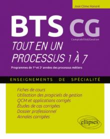 BTS CG - Tout en un processus 1 à 7