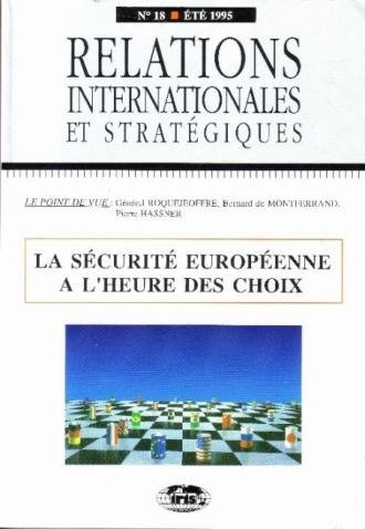 n°18 - La sécurité européenne à l'heure des choix